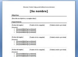 Curriculum En Ingles Descarga Este Modelo Gratis
