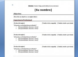 currículum moderno con foto cv con foto