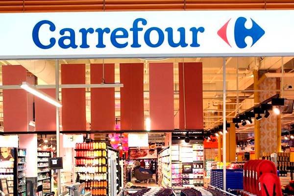 Uno de los hipermercados Carrefour