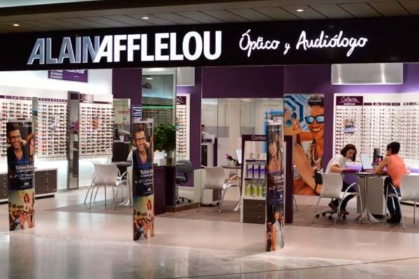 Una de las tiendas Alain Afflelou