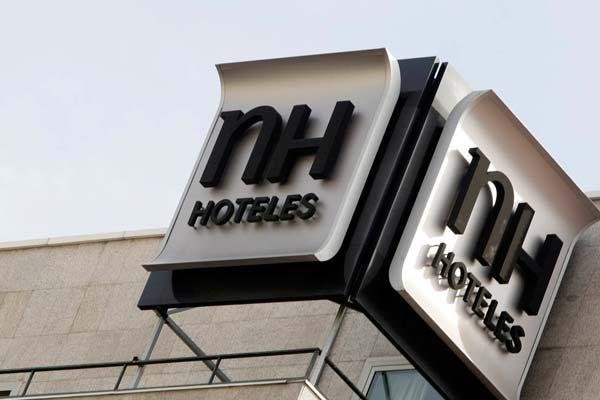 Cartel de hotel NH