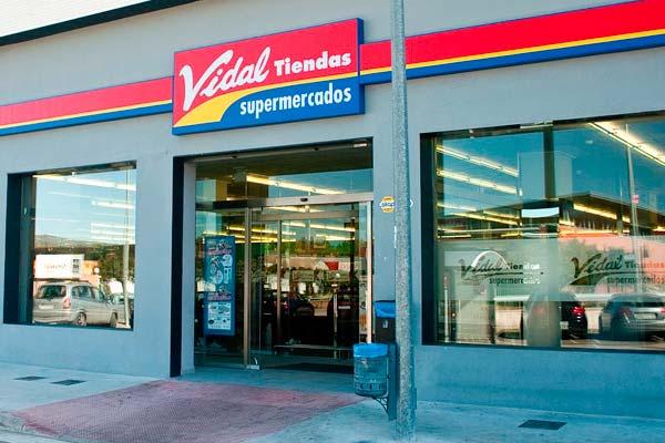 Uno de los supermercados Vidal