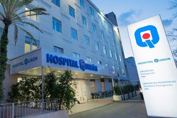 uno de los hospitales Quirón