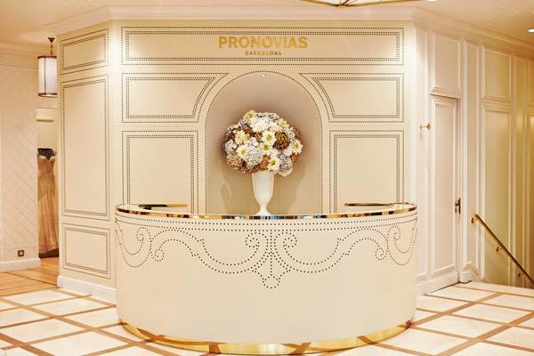 Imagen de una de las tiendas de Pronovias