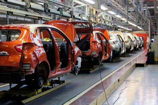 Planta de montaje de fábrica Renault
