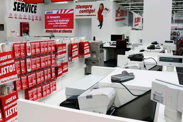 Una de las numerosas tiendas Media Markt