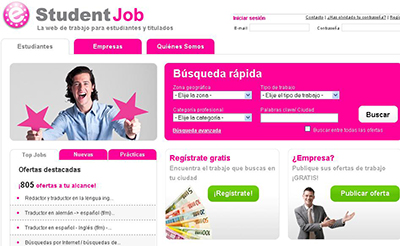 Las 20 páginas web con más ofertas de empleo en España