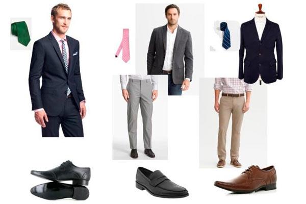 ropa ideal para que vista un hombre que se presenta a una entrevista de trabajo